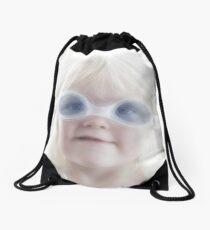 I can swim like this... Drawstring Bag