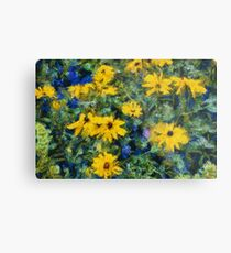Goghflowers Metal Print