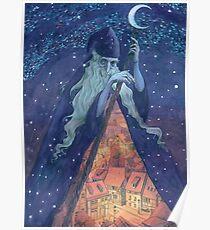 Old Man Night Poster