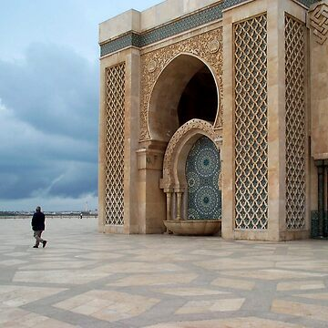 Hassan II Mosque ~ Casablanca, Morocco by GVAZDesigns
