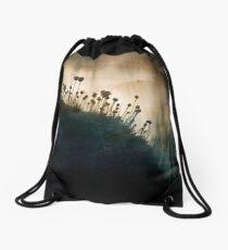 wild things - number 1 Drawstring Bag