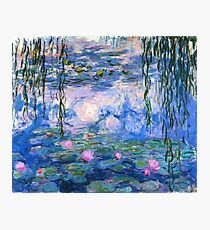 Water Lilies Monet Photographic Print