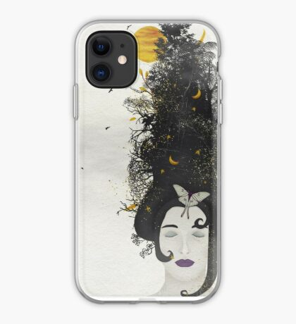 Rococo: The Black Queen iPhone Case