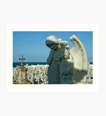 Cementerio de San Juan Art Print