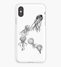 Hot-Air Balloon Jellyfish iPhone Case