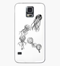 Hot-Air Balloon Jellyfish Case/Skin for Samsung Galaxy