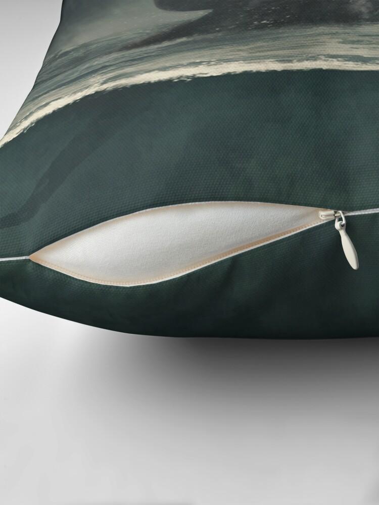 Alternate view of Kraken... Throw Pillow