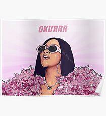 OKURRR- Cardi B Poster