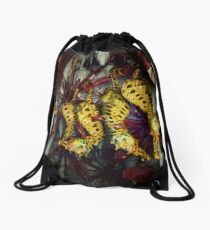 Ocean Invasion #4: Crystal Cave of the Landhorse Drawstring Bag
