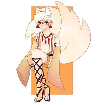kitsune boy by kawaideathmatch