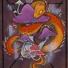 Fungus snake by HidingMonster