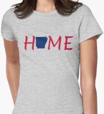 Arkansas State Shirt Old Glory Proud Home Gift T-Shirt Mug Hoodie Women's Fitted T-Shirt