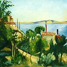 Provence after Cezanne by Angelamc