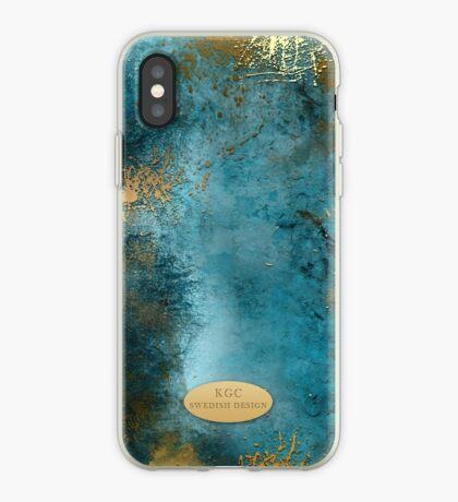 Mobile Skin Turcoisegold iPhone Case