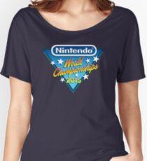 Nintendo World Championships 2015 Logo Women's Relaxed Fit T-Shirt