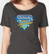 Nintendo World Championships 2015 Logo Women's Relaxed Fit T-Shirt