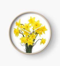 Flowers of spring Clock