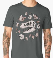 Geo-rex Vortex | Rose Quartz Men's Premium T-Shirt