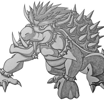 Super Saiyan Bowser by Dach1989