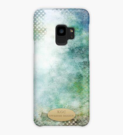 Mobile phone skins bluegreenwhite Case/Skin for Samsung Galaxy