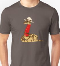 Mountie Python Unisex T-Shirt