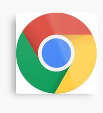 Google Chrome Logo Metal Print