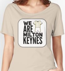 MK Dons Women's Relaxed Fit T-Shirt