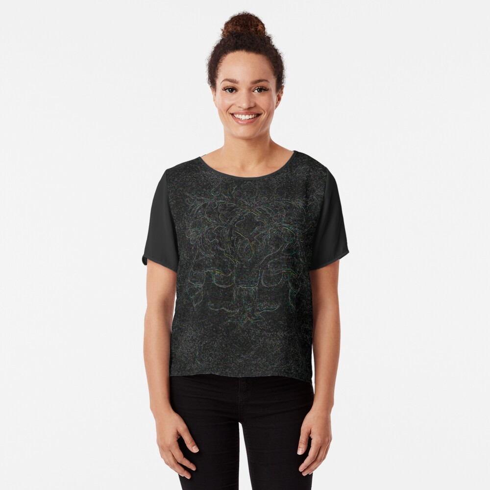 Tree of Life - Even Darker Chiffon Top
