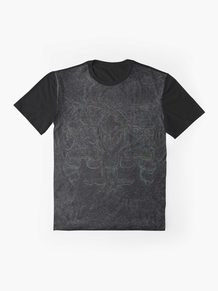 Alternate view of Tree of Life - Even Darker Graphic T-Shirt