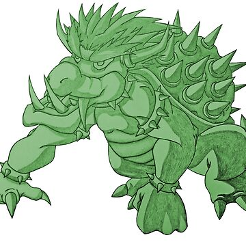 Super Saiyan Bowser (Green Tint) by Dach1989