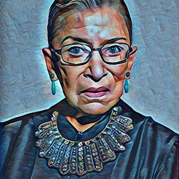 Ruth Bader Ginsburg by prouddesigns
