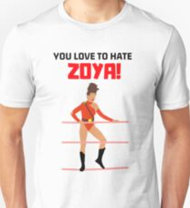 "GLOW ""YOU LOVE TO HATE ZOYA"" Unisex T-Shirt"