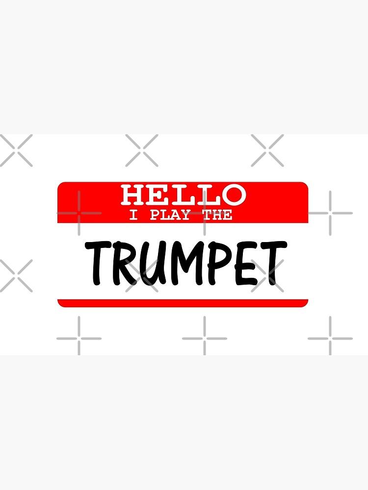 Ich spiele die Trompete - lustiges Trompete-T-Shirt von greatshirts
