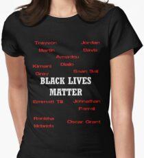 Black Lives Matter Women's Fitted T-Shirt