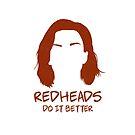 Nicole Haught - Redheads Do It Better by Chantal Zeegers
