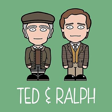 Ted and Ralph by redscharlach