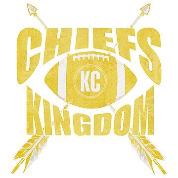 Chiefs Kingdom Gold by Lordbearski