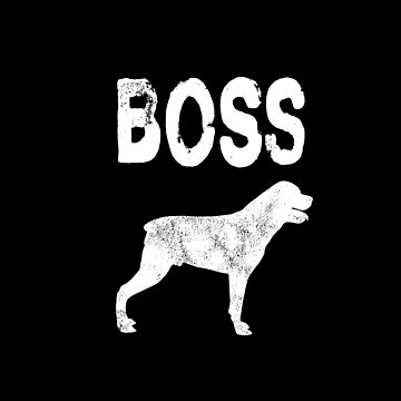 Rottweiler Boss - Rottweiler Dog T Shirt Gifts   by greatshirts