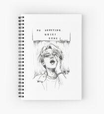 No Shouting Spiral Notebook