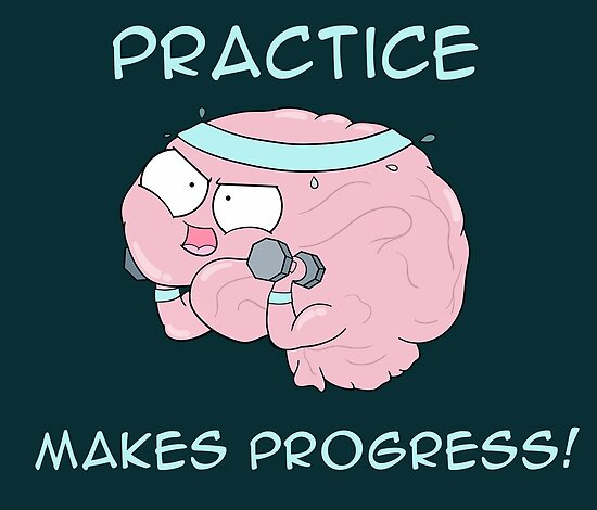 Practice Makes Progress by amoebasisters