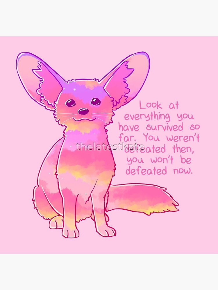 """""""You Won't Be Defeated Now"""" Fennec Fox by thelatestkate"""