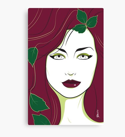 Poison Ivy - Nagel Style Canvas Print