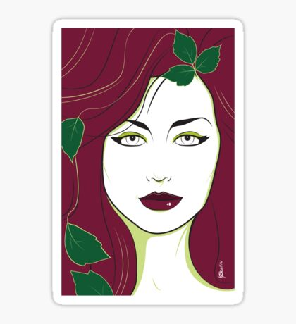 Poison Ivy - Nagel Style Sticker