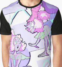 80er Opal Grafik T-Shirt