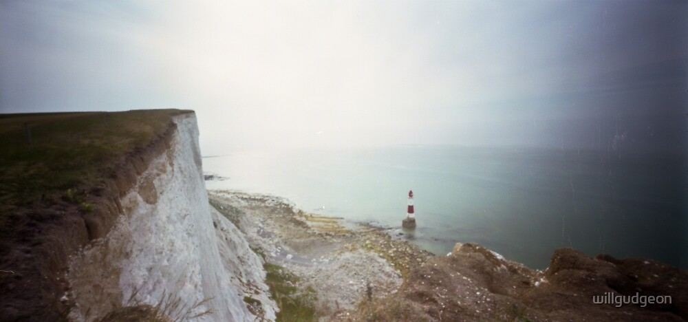 Beachy head Lighthouse - Pinhole photography  by willgudgeon