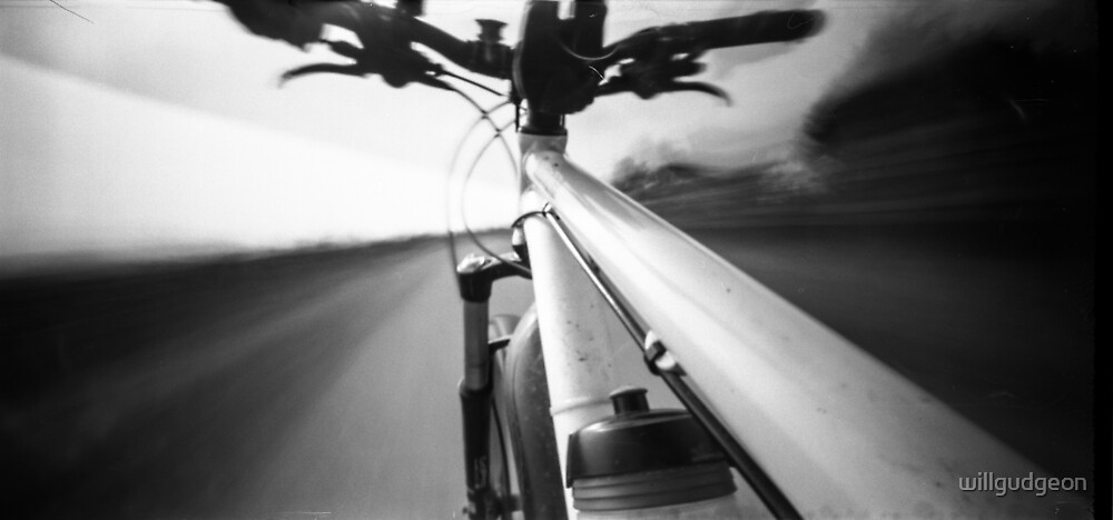 Bike ride -Pinhole photography by willgudgeon