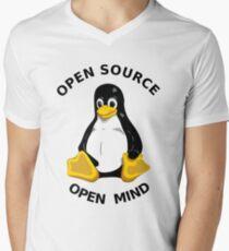 Open Source Open Mind Men's V-Neck T-Shirt
