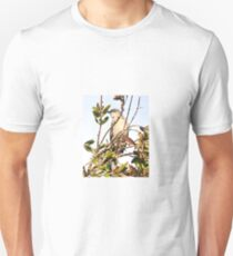 MOCKING BIRD IN A TREE Unisex T-Shirt