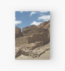 Historic Ruins, Chaco Canyon, New Mexico Hardcover Journal