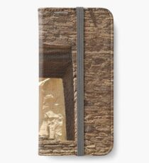 Historic Ruins, Chaco Canyon, New Mexico iPhone Wallet/Case/Skin